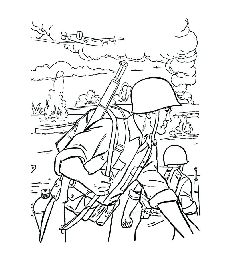 801x942 Free Printable Army Coloring Pages For Kids Army Men Coloring