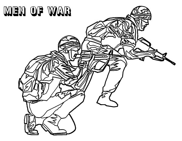 600x464 Men Of War Army Coloring Pages Bulk Color Guy We Are All Magical