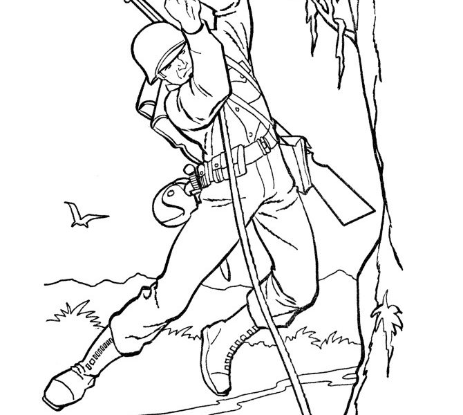 670x600 Army Coloring Pages Printable Coloring Page Ideas