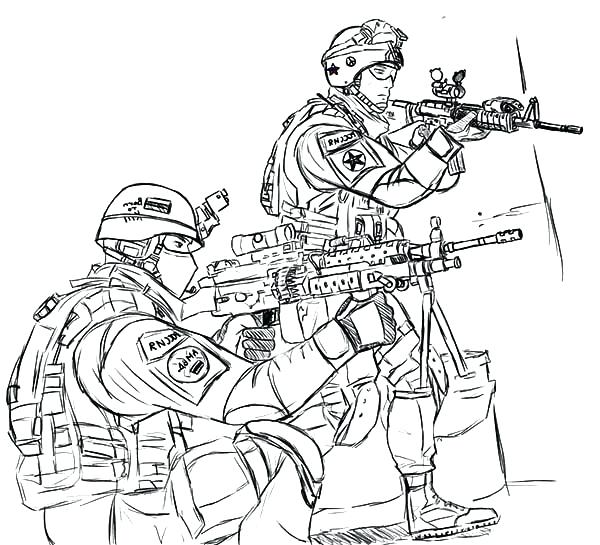 600x545 Military Coloring Book As Well As Army Coloring Pages For Kids