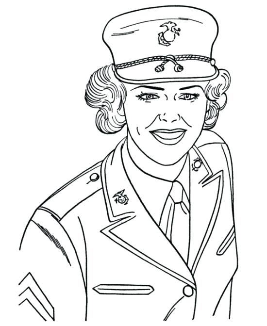 550x672 Military Coloring Pages To Print Army Navy Air Force Marines