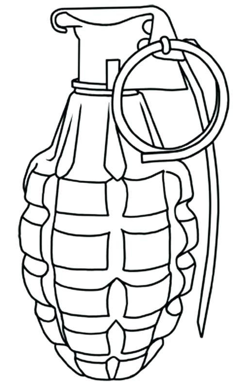 Coloring Pages Coloring For Gun
