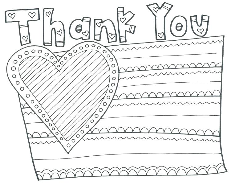 776x600 Veteran Coloring Pages Thank You Coloring Pages Also Watch More