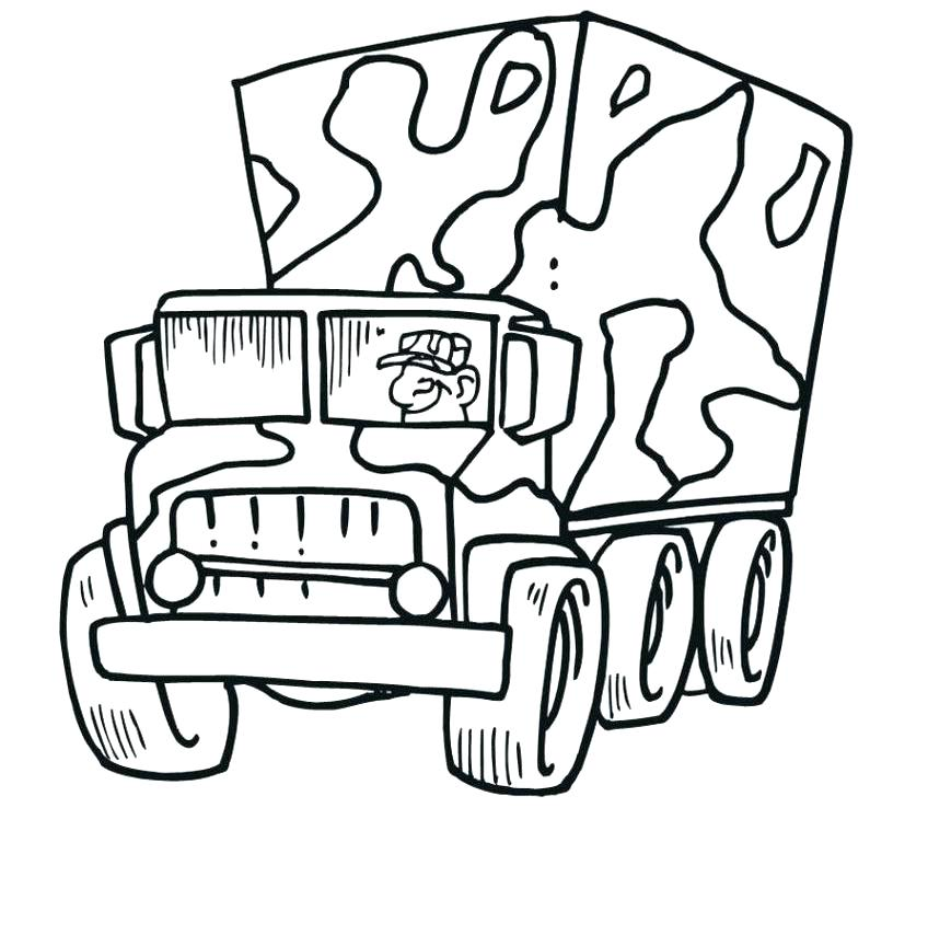 848x864 Army Vehicles Coloring Pages Fighter Combat Car Coloring Page