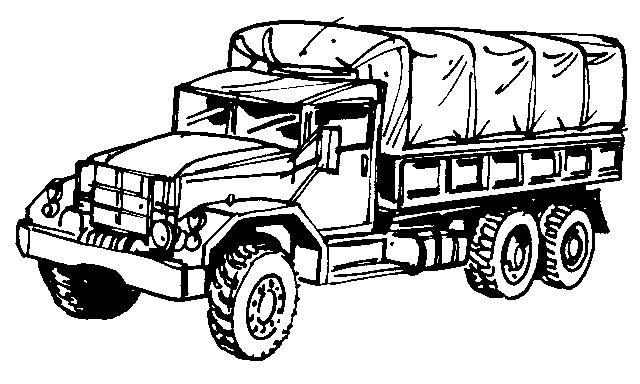 Military Vehicles Coloring Pages At Getdrawings Com Free For