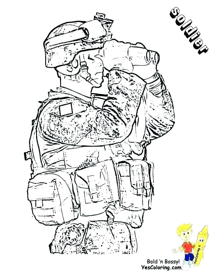 736x951 Military Coloring Pages