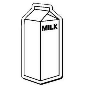 300x300 Milk Carton Clipart Outline