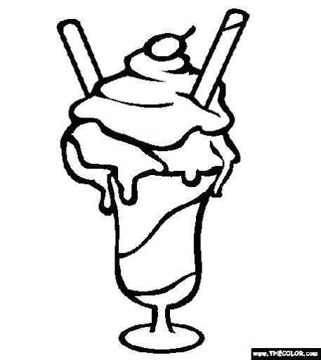 457x512 Charming Milkshake Coloring Pages Amazing Milkshake Coloring Pages