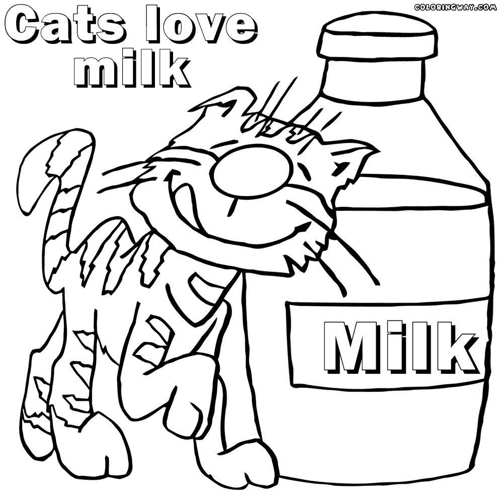 994x1000 Coloring Pages Milk Coloring Page Fun