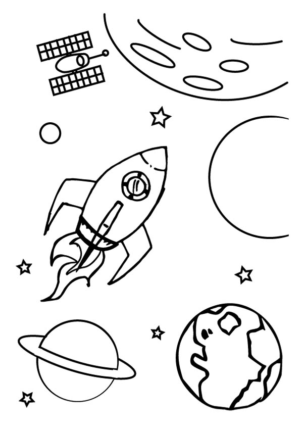 Milky Way Coloring Page At Getdrawings Com Free For Personal Use