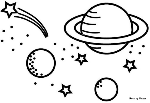 Milky Way Coloring Page at GetDrawings | Free download