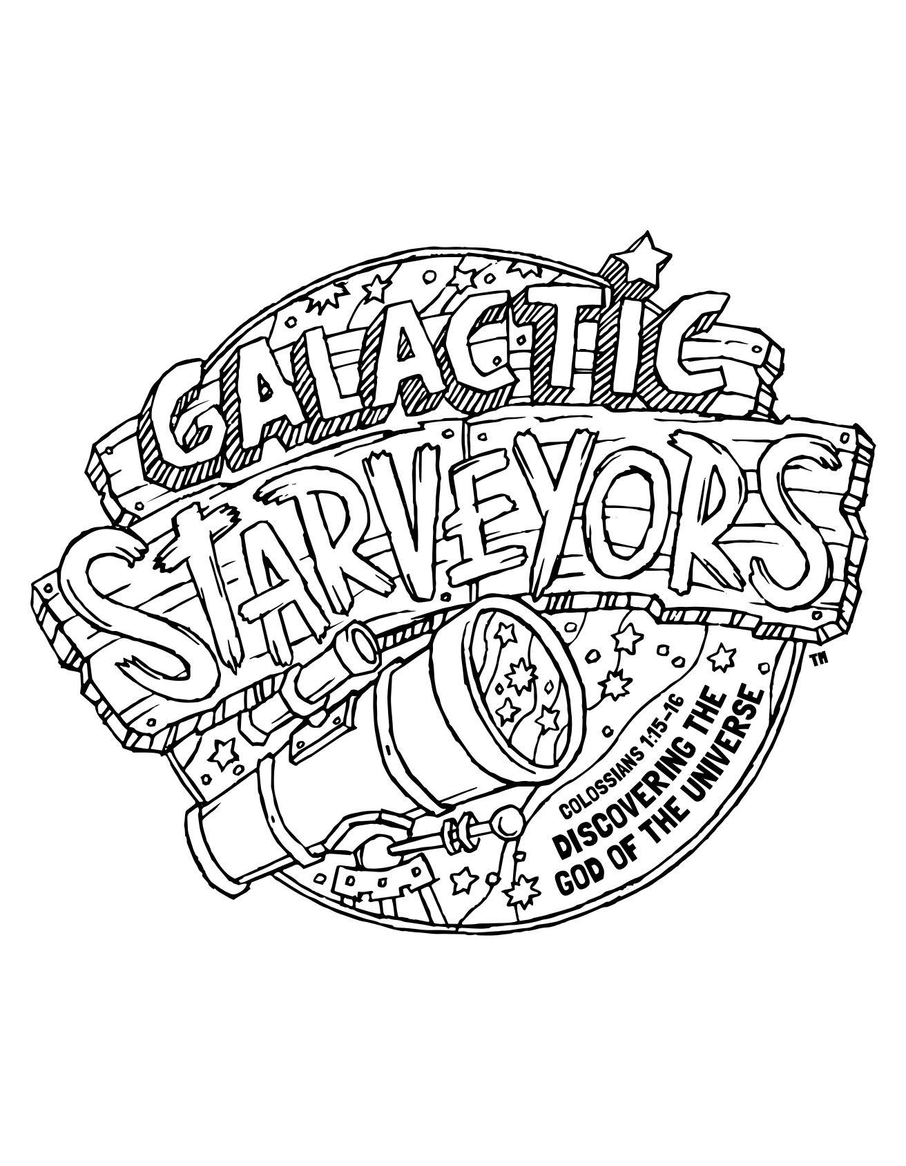 1312x1687 Galactic Starveyors Coloring Sheet Vbs Day Vbs