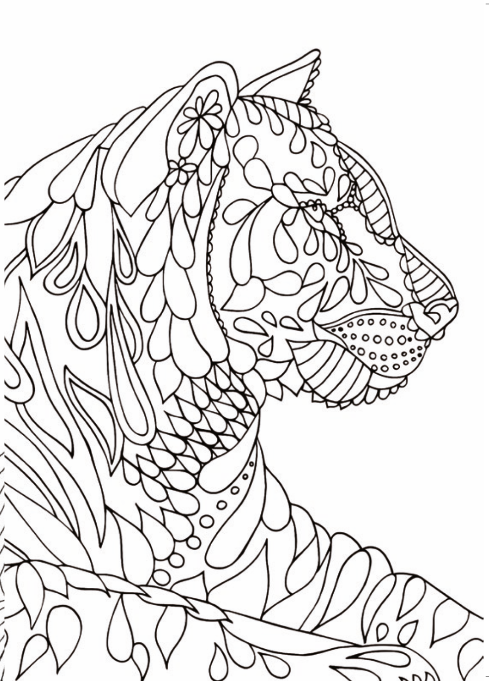 986x1376 Downloadable Colouring Pages For Relieving Stress And Anxiety