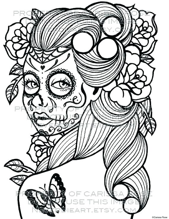 570x738 Girly Coloring Pages Girly Coloring Pages To Print Mindfulness