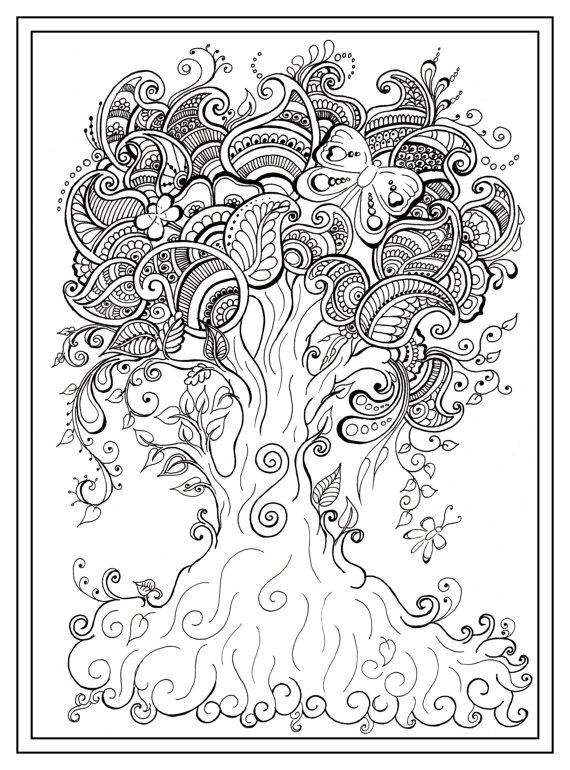 570x770 Mindfulness Coloring Pages Pdf Bgcentrum