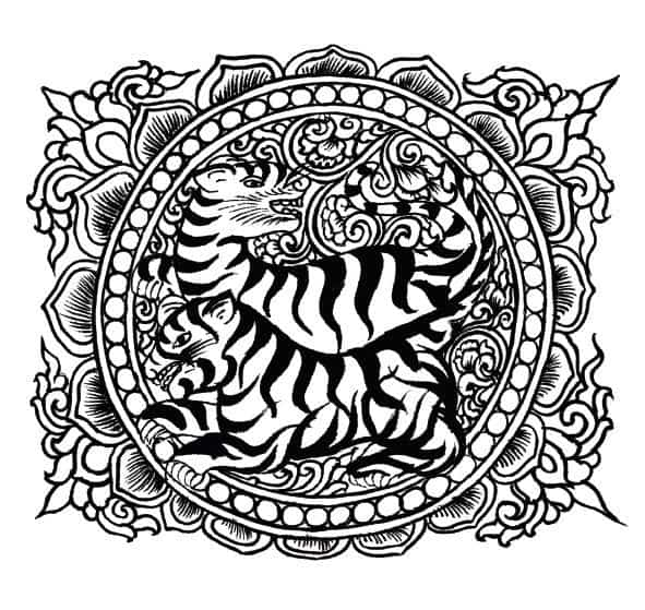 591x559 Collection Of Free Coloring Pages For Adults Published