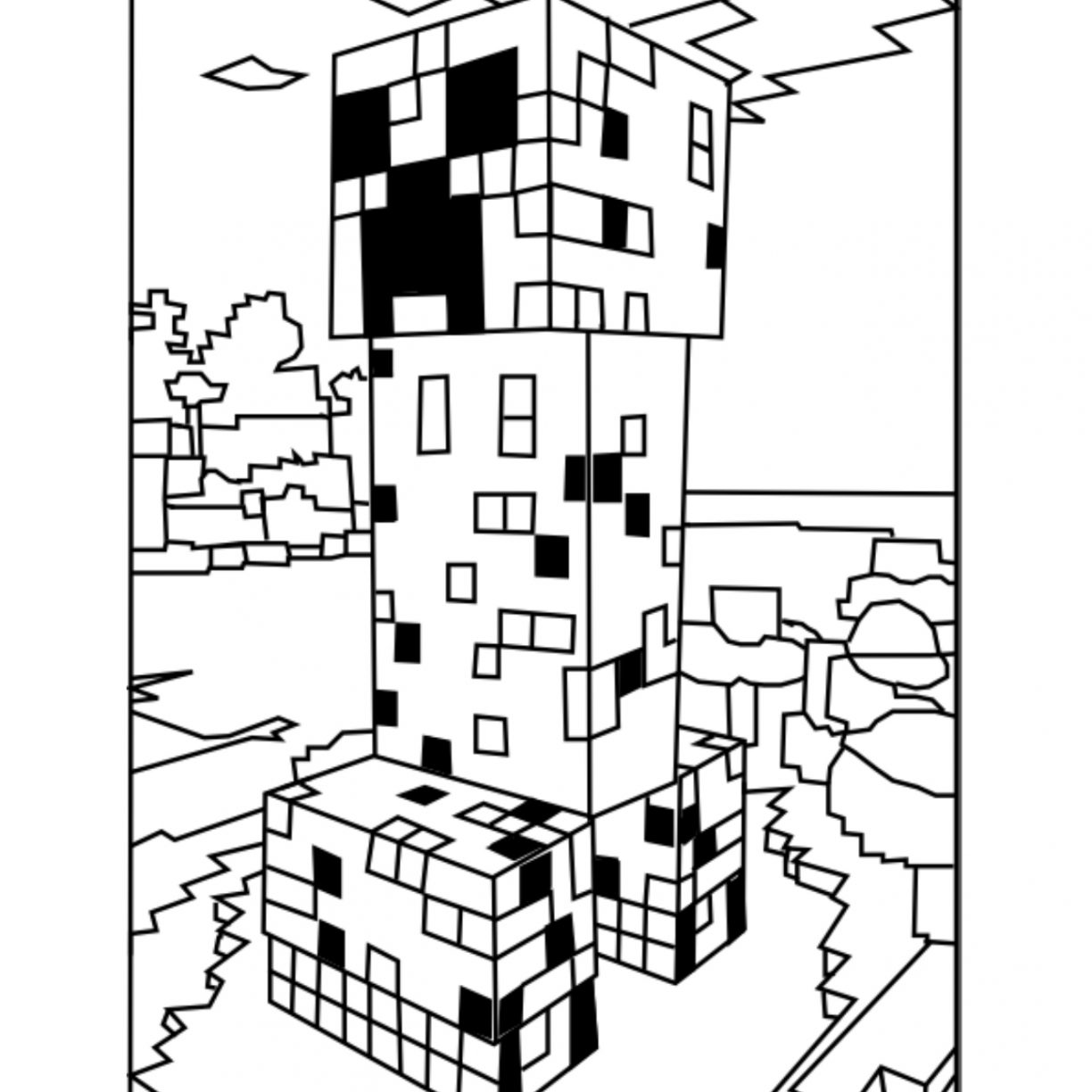 Minecraft Alex Coloring Pages at GetDrawings.com | Free ...