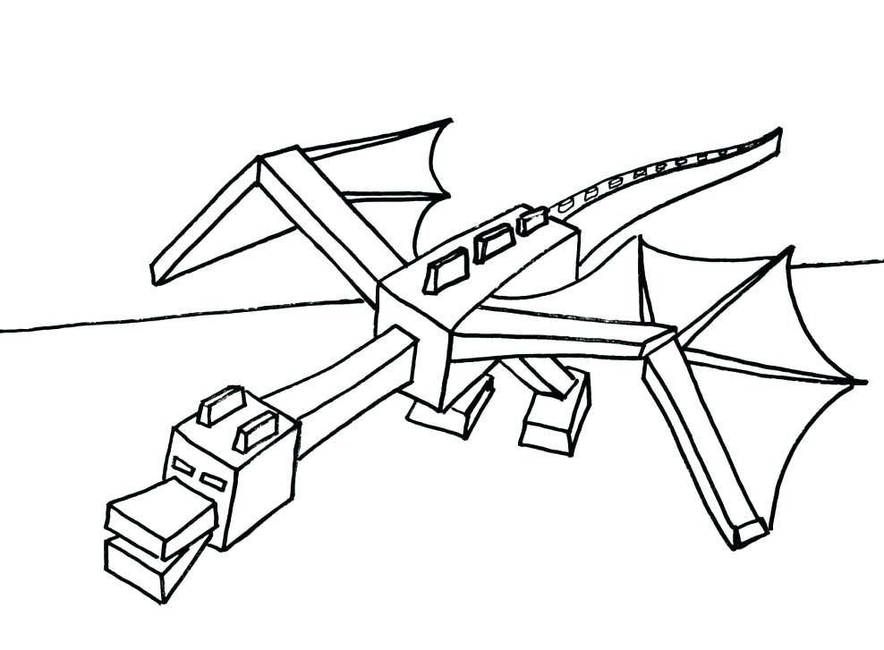 988x727 Mincraft Colouring Pages Animal Coloring Pages Minecraft Colouring