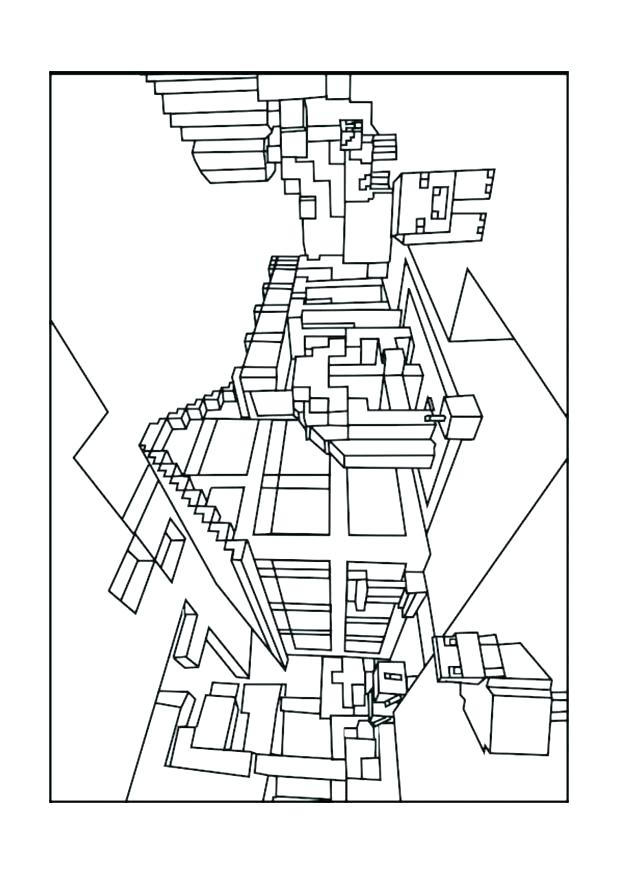 618x874 Minecraft Ocelot Coloring Pages S Minecraft Ocelot Colouring Pages