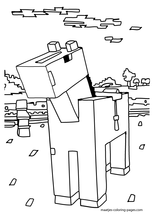 595x842 Stampylongnose Minecraft Coloring Crokky Coloring Pages Avery