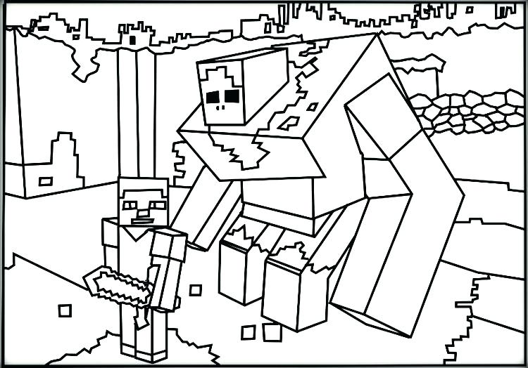 750x524 Coloring Pages Free Free Coloring Minecraft Animal Coloring