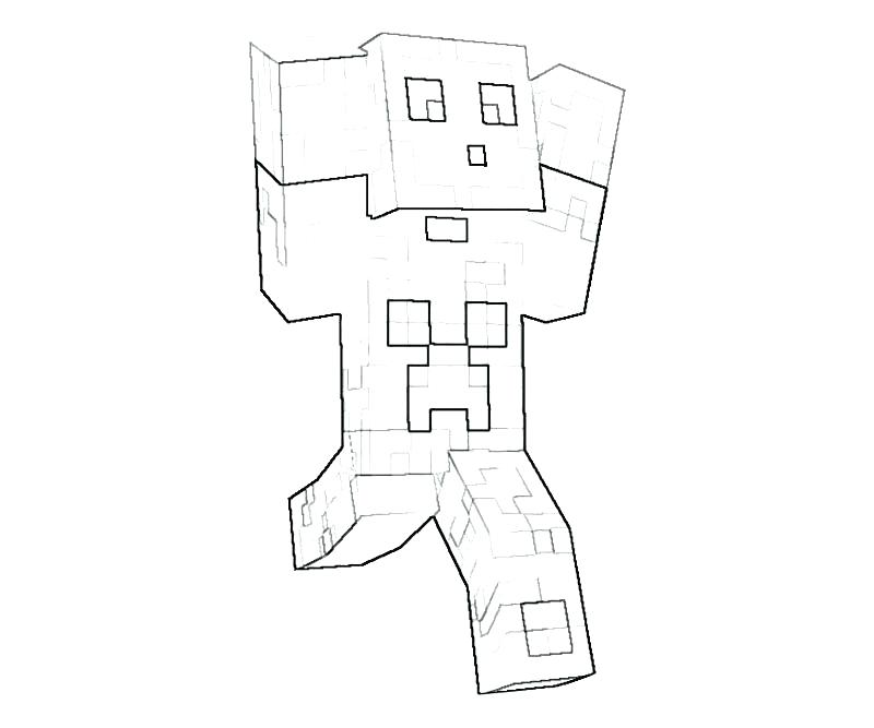 800x667 Minecraft Coloring Pages Printable Download This Coloring Page