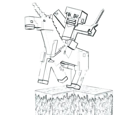 564x470 Free Printable Minecraft Characters Printable Coloring