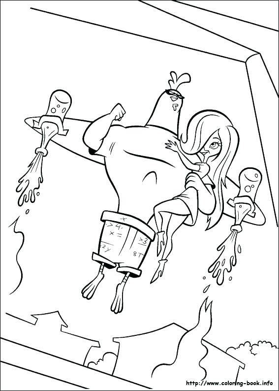 567x794 Chicken Little Coloring Pages Chicken Little Colouring Pages