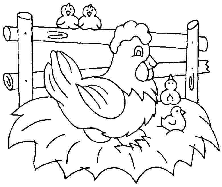 780x657 Minecraft Chicken Coloring Pages Free Printable Chicken Coloring