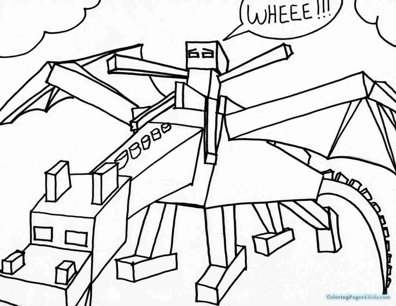 1295x1000 Minecraft Coloring Pages Coloring Page
