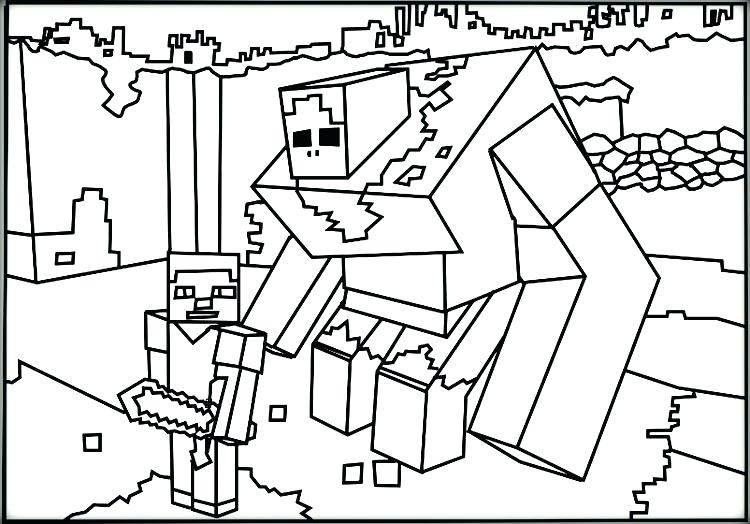 750x524 Minecraft Coloring Pages Zombie Pigman Coloring Sheet Remarkable