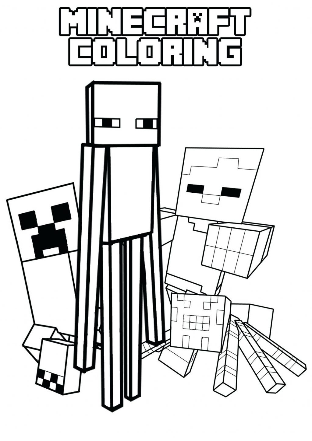 image relating to Creeper Face Printable titled Minecraft Coloring Internet pages Creeper Facial area at