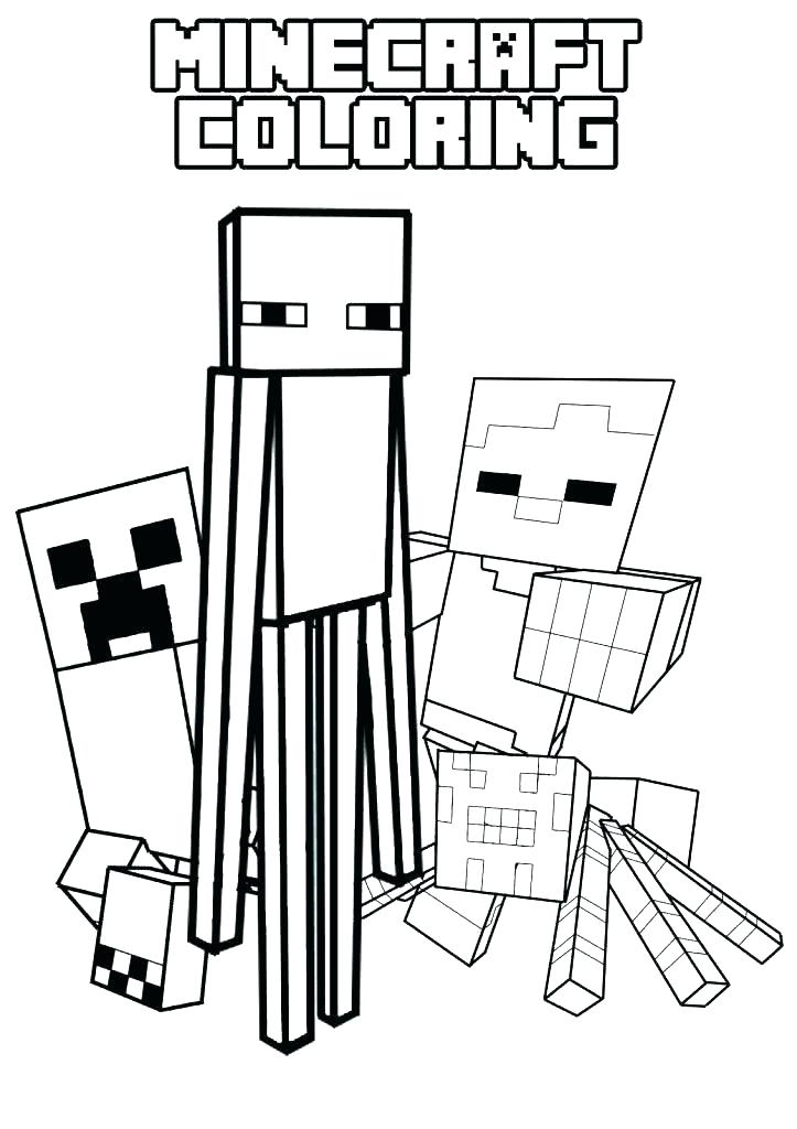 Minecraft Coloring Pages Creeper Face At Getdrawings Free Download
