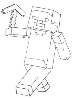 Minecraft Coloring Pages Dantdm At Getdrawings Free Download