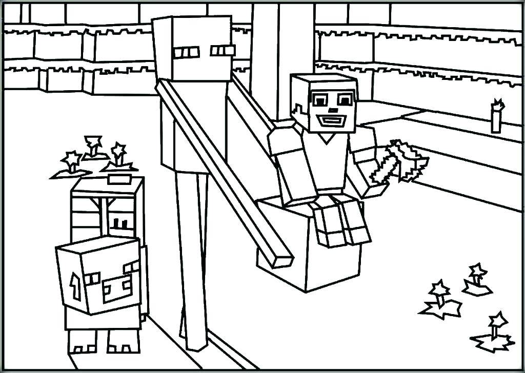 1024x728 Minecraft Coloring Pages Ender Dragon An Dragon Ride