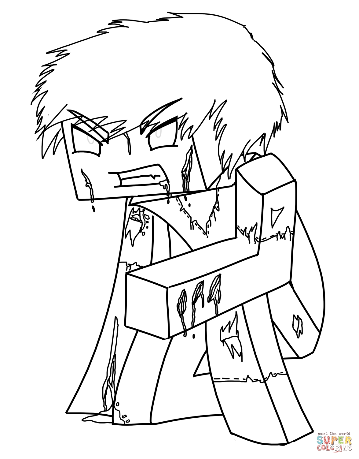 1175x1500 Minecraft Coloring Pages Ender Dragon Collection