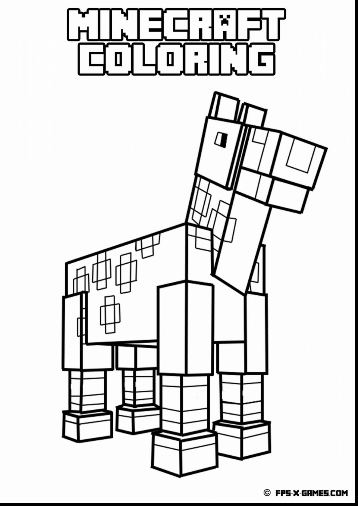 1244x1760 Minecraft Coloring Pages Ender Dragon Preschool In Amusing Draw
