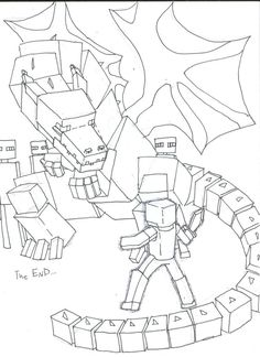 236x324 Cool Ender Dragon Coloring Page Minecraft Coloring Pages