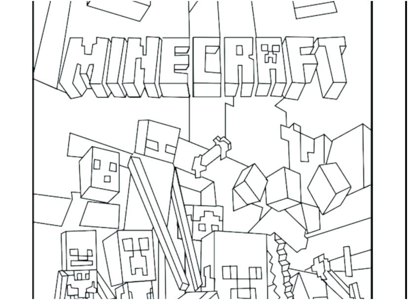 827x609 Minecraft Coloring Pages To Print Printable Coloring Page Lego