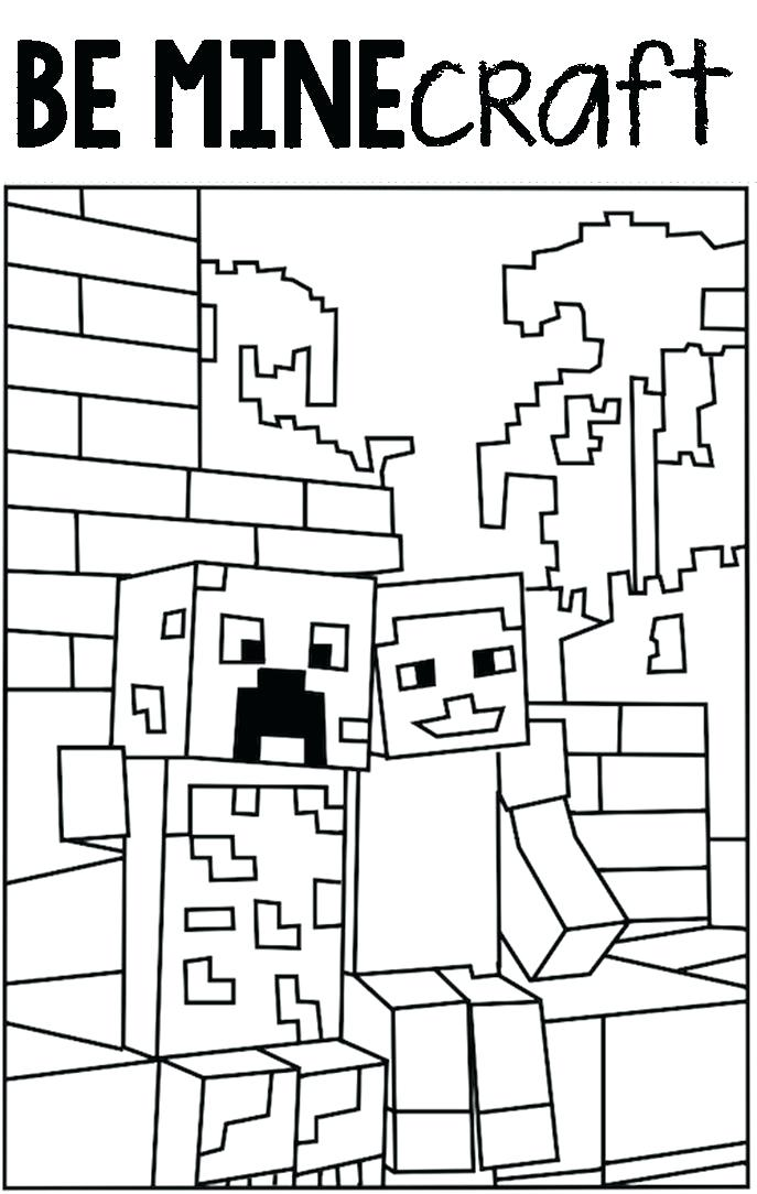687x1084 New Printable Minecraft Coloring Pages And Coloring Pages To Print