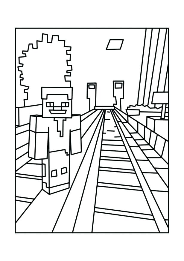 615x870 Printable Minecraft Coloring Pages Coloring Pages Minecraft