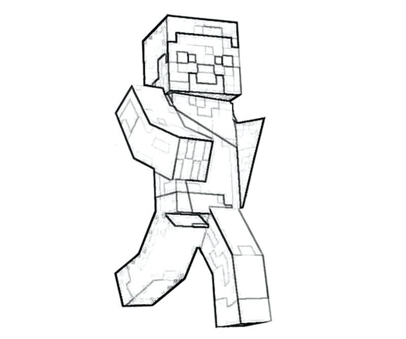 800x667 Free Minecraft Coloring Pages Free Printable Coloring Pages