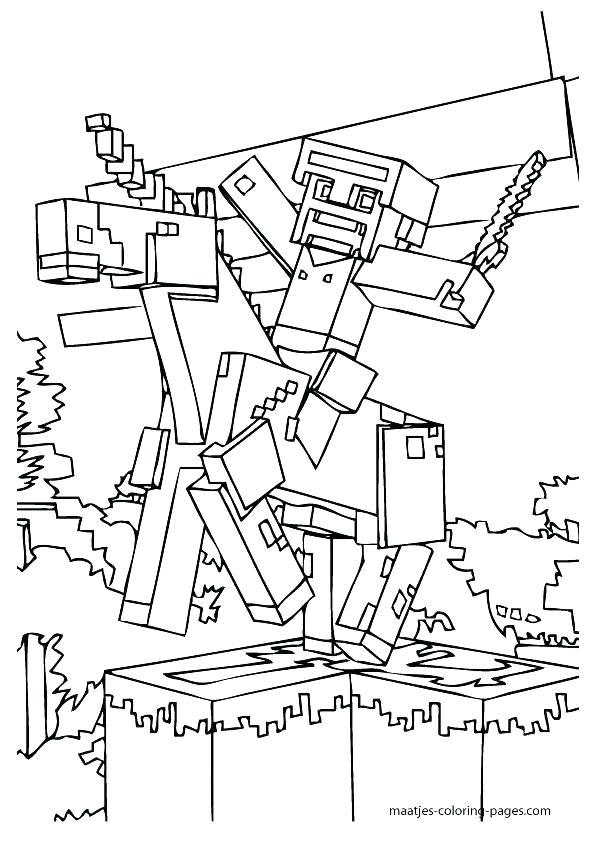 595x842 Minecraft Coloring Pages Amazing Printable Coloring Pages