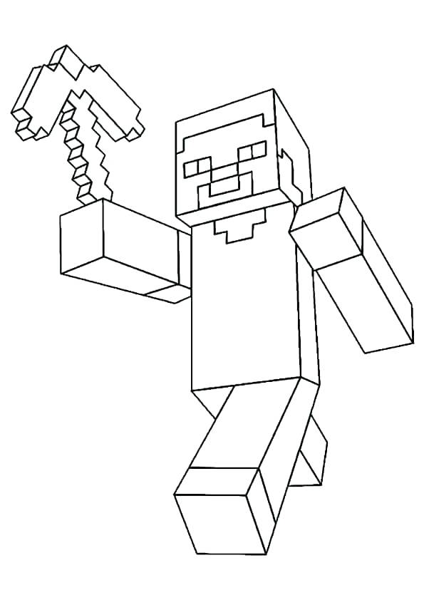 595x842 Minecraft Coloring Pages Coloring Page Coloring Page Coloring