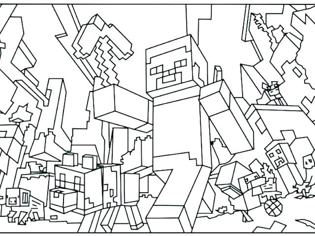 640x480 Minecraft Coloring Pages Of Steve Coloring Pages Coloring Pages