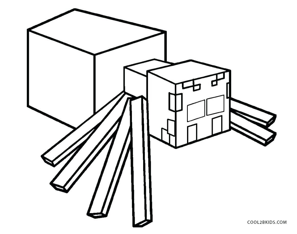 Minecraft Coloring Pages Wither At Getdrawings Com Free For