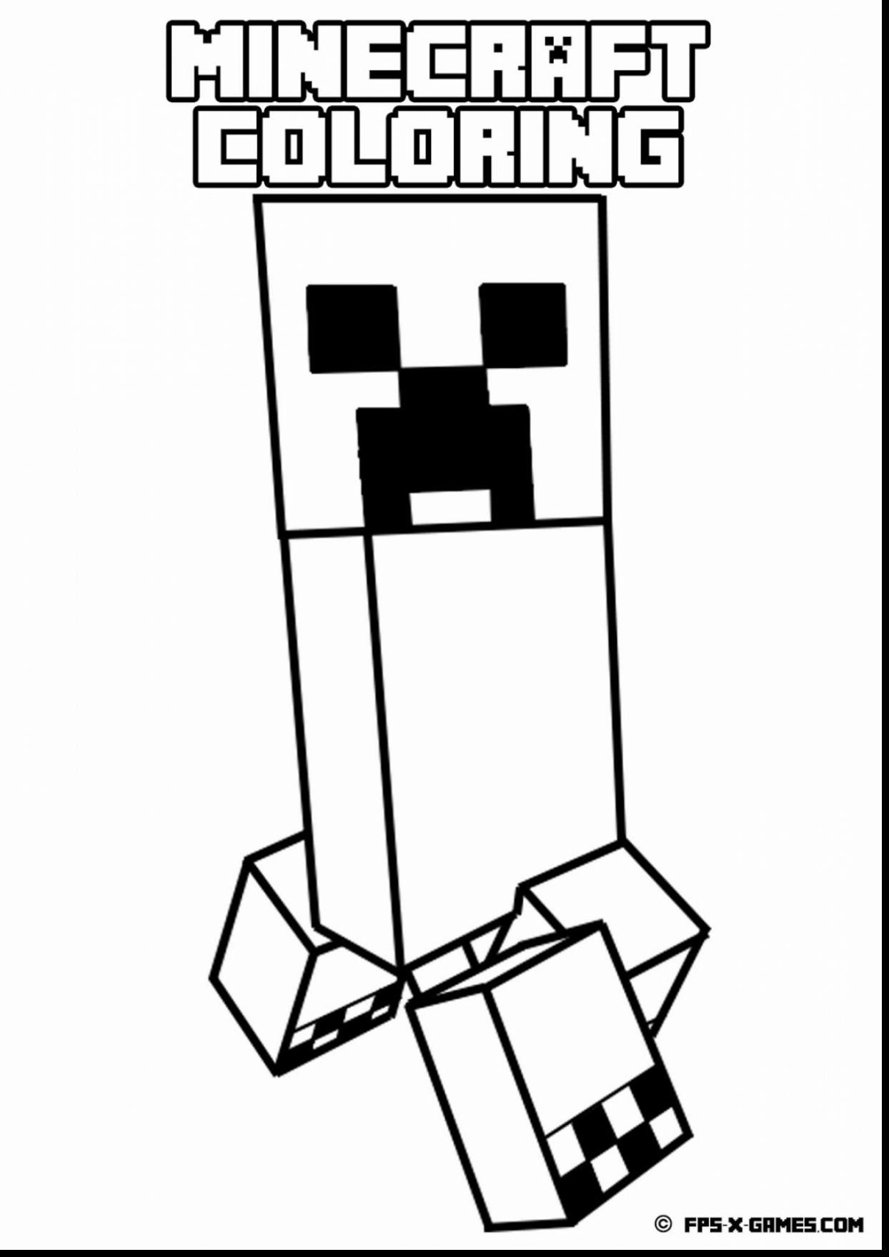 1244x1760 Minecraft Creeper Coloring Pages Printable Fresh Great Minecraft