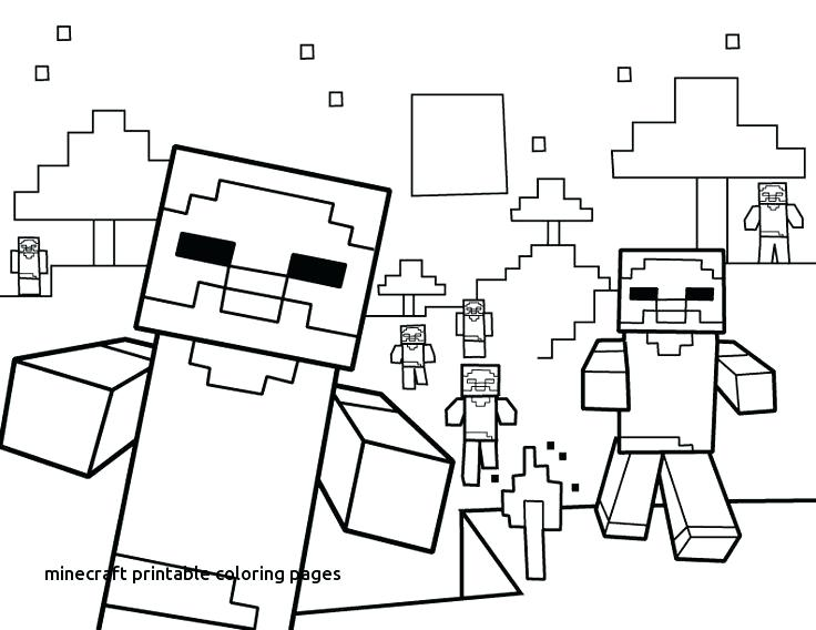 736x568 Minecraft Printable Coloring Pages Coloring Pages Coloring Pages