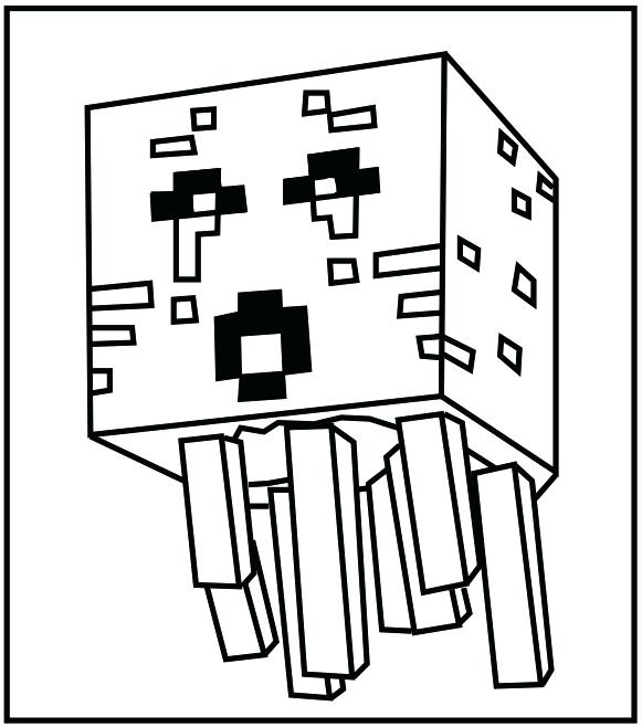 581x658 Printable Minecraft Coloring Pages Coloring Pages Free Printable