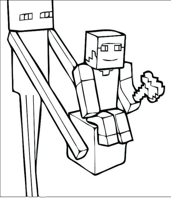 560x650 Amazing Minecraft Printable Coloring Pages And Coloring Pages
